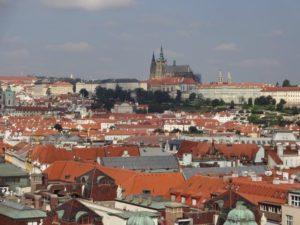 プラハの街並み&プラハ城