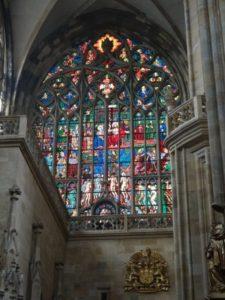聖ヴィート大聖堂 ステンドグラス