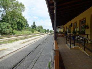 チェスキークルムロフ駅