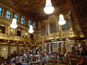 ウィーン楽友協会ホール
