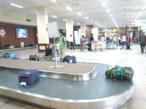 ネパール国際空港