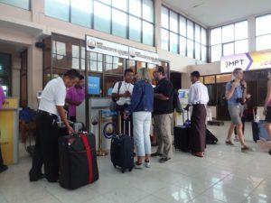 バガン空港
